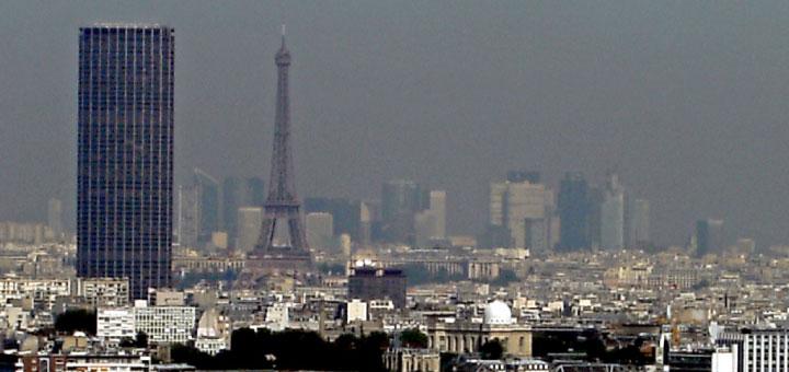 De plus en plus de pics de pollution  à Paris.