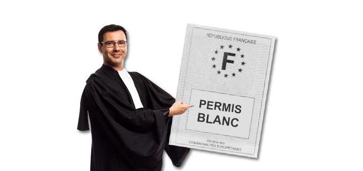 Comment obtenir un permis blanc ?