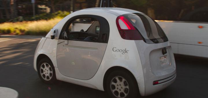 La voiture autonome de Google est actuellement en test sur les routes