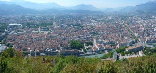 La cuvette de Grenoble tristement célèbre pour sa pollution